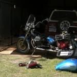 Traversata delle tre Americhe in moto - toronto